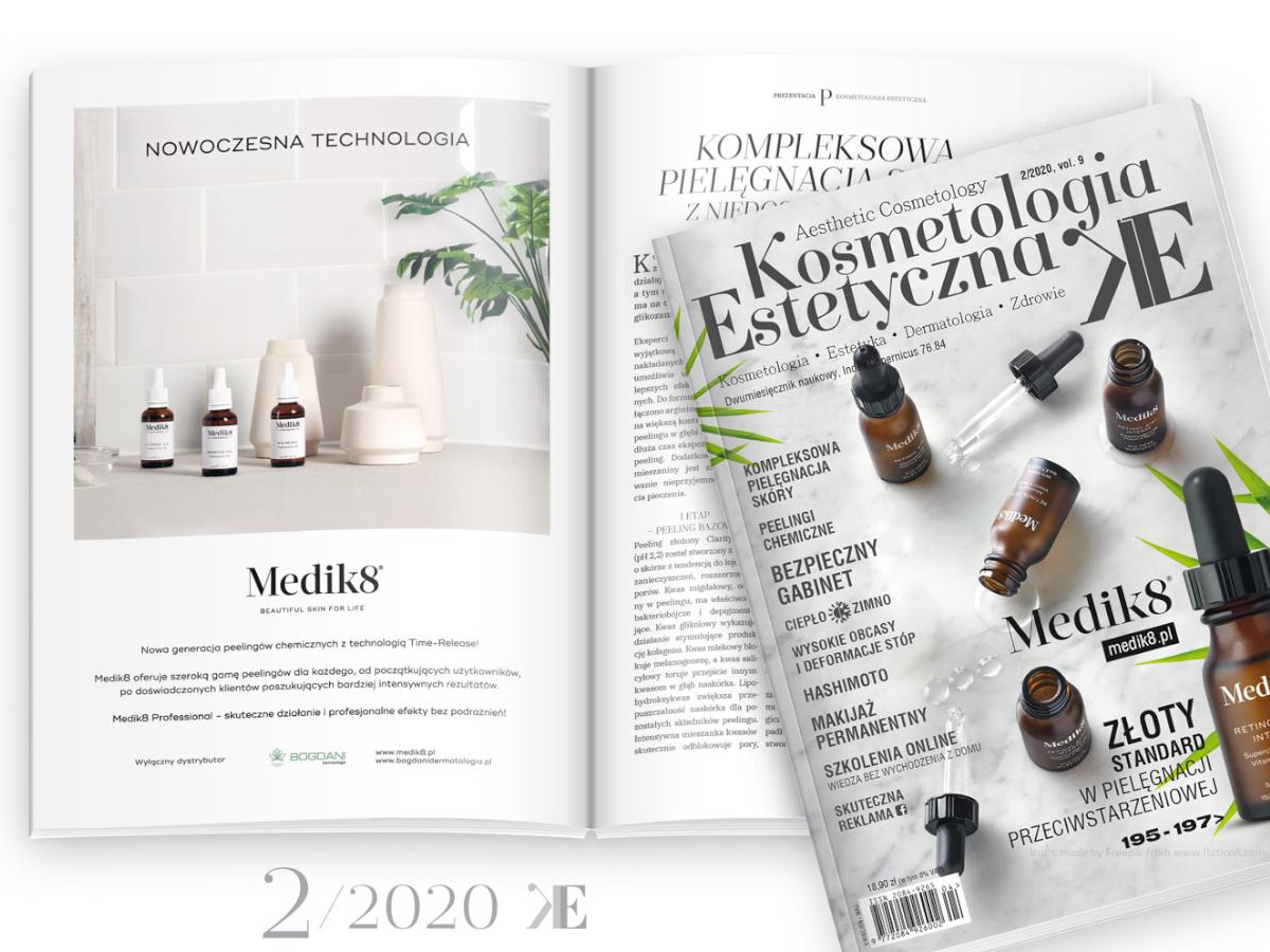 Profesjonalna pielęgnacja Medik8 w magazynie Kosmetologia Estetyczna